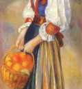 renoir girl with a basket of oranges c1889