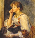 renoir girl with a letter