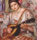 renoir girl with a mandolin