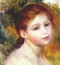 renoir head of a woman c1887