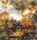 renoir landscape at beaulieu c1893