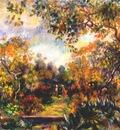 renoir landscape at beaulieu c1893