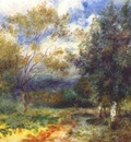 renoir landscape in the sun 1880