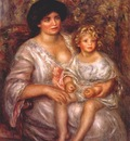 renoir madame thurneyssen and her daughter