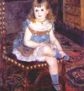 renoir mlle georgette charpentier seated
