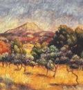 renoir montagne sainte victoire c1888