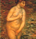 renoir nude in the water
