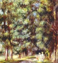 renoir path through the undergrowth