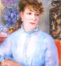 renoir portrait of a woman