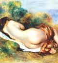 renoir reclining nude c1890