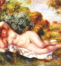 renoir reclining nude the baker