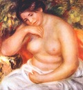 renoir seated bather
