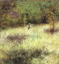 renoir spring at chatou c1872