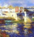 renoir the bridge at chatou c1875