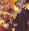 renoir the first evening out la premiere sortie c1876