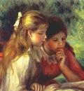renoir the reading la lecture c1890