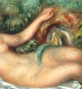 renoir the spring reclining nude 1902
