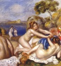 renoir three bathers with a crab c1897