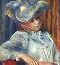 renoir woman in a hat