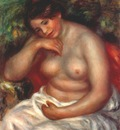renoir woman sleeping c1900