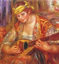 renoir woman with a mandolin
