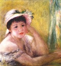 renoir woman with straw hat alphonsine fournaise