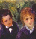 renoir young man and young woman c1876