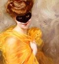 Ribera Pierre Lady At A Masked Ball