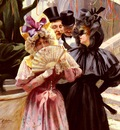 Ribera Pierre Sortie Du Bal A L Opera De Paris