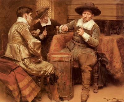 Ribera Roman Partida De Cartas