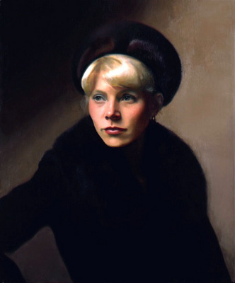 Portrait of the Artists Wife Linda