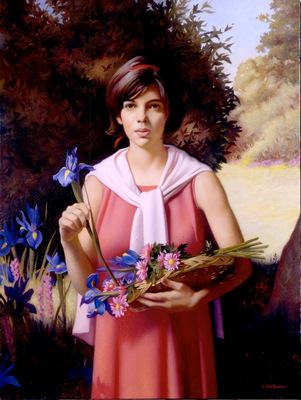 Richards Flower Girl