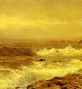 Richards William Trost Rocky Sea Coast