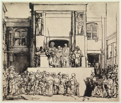 rembrandt christ presented to the people
