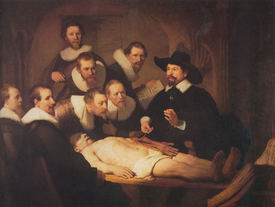 Rembrandt The Anatomy Lecture of Dr Nicholaes Tulp