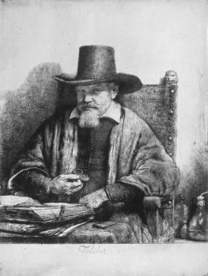 Rijn van Rembrandt Arnold Tholinx Sun