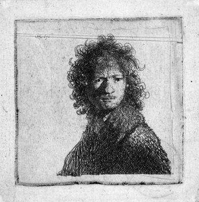 Rijn van Rembrandt Self portrait 4 Sun