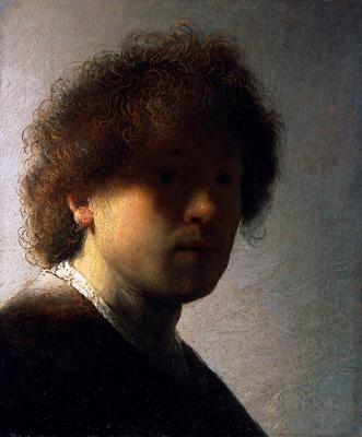 rijn van rembrandt selfportrait 5 sun