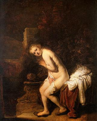 Rijn van Rembrandt Susanna Sun