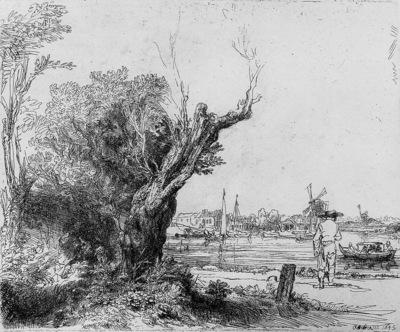 Rijn van Rembrandt The Omval Sun