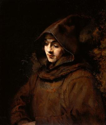 Rijn van Rembrandt Titus as Monk Sun