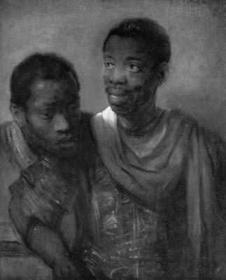 Rijn van Rembrandt Two negroes Sun