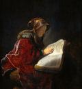 Rijn van Rembrandt Prophet Anna Sun