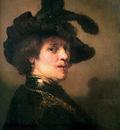 Rijn van Rembrandt Self portrait 7 Sun