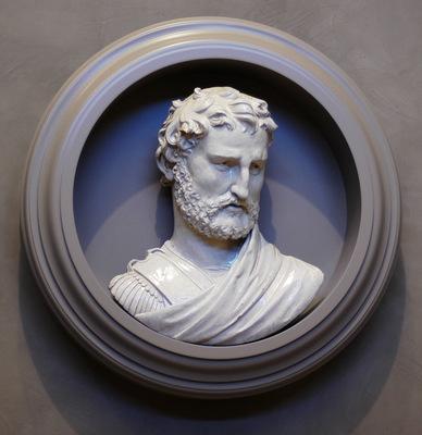 Robbia Giralomo della Bust of a man