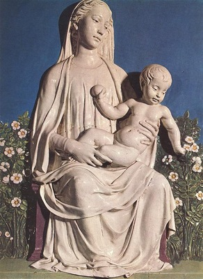 Robbia Madonna of Roses