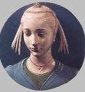 Robbia Tondo Portrait of a Lady