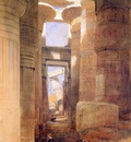 Roberts David The temple of Amon at Karnak Sun000