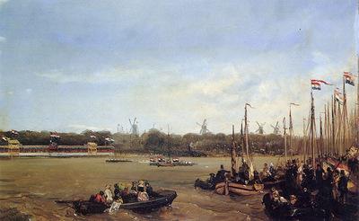 Rochussen Charles Regatta on the Maas Sun