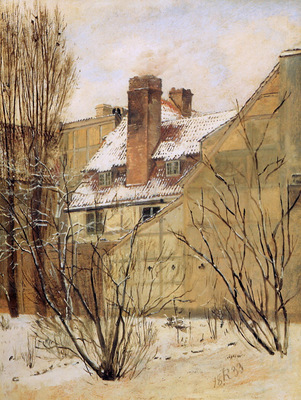 Roed Jorgen The garden of the Collins Town house Sun